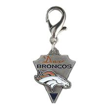 Denver Broncos Pennant Dog Collar Charm