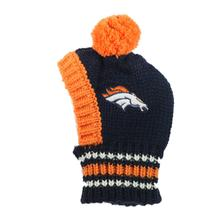 Denver Broncos Knit Dog Hat