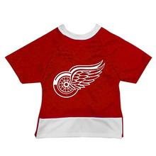 Detroit Red Wings Mesh Dog Jersey - Red with White Trim