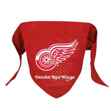 Detroit Red Wings Mesh Dog Bandana - Red