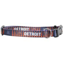 Detroit Tigers Baseball Dog Collar - Dotted