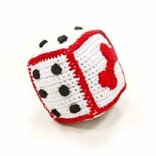 Dice Crochet Dog Toy by Dogo