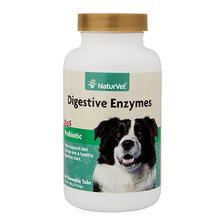 Digestive Enzymes with Probiotics Chewable Pet Tabs by NaturVet