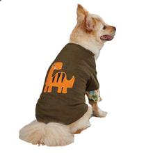 Dino Dog Mock T-Shirt - Chive