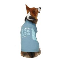Dog is Good Big Mutts Dog T-Shirt - Blue