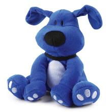Dog is Good Bolo Plush Dog Toy - Sky Diver Blue