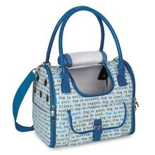 Dog Is Good Dogism Dog Carrier - Blue