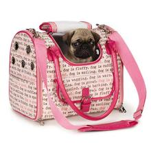 Dog Is Good Dogism Dog Carrier - Pink