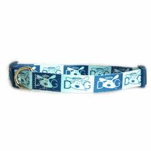 Dog is Good Halo Dog Collar - Blue