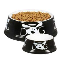 Dog is Good Halo Dog Dish - Black