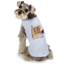Dog is Good Surf Dog Tank Top - Light Blue