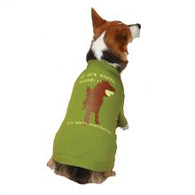 Dog is Good Worth Doing Dog T-Shirt - Green