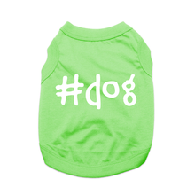 #Dog Shirt - Green