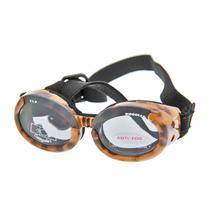 Doggles - Leopard Frame with Smoke Lens