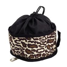 Doggles Leopard Travel Bowl