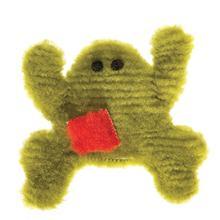 Doggy Froggy Floppy Dog Toy - Kiwi Green