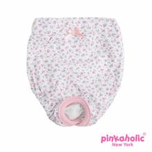 Dogwood Dog Sanitary Pants by Pinkaholic - Off White