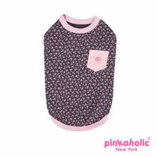 Dogwood Dog Shirt by Pinkaholic - Dark Gray