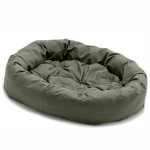 Donut Dog Bed by Dog Gone Smart - Olive
