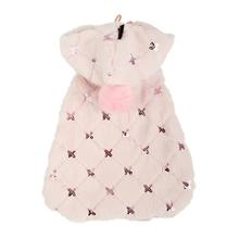 Doris Hooded Dog Cape by Puppia - Pink