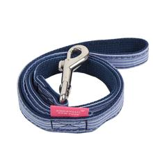 Downy Dog Leash by Pinkaholic - Navy