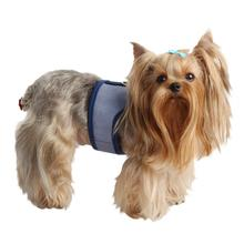 Downy Pinka Dog Harness by Pinkaholic - Navy
