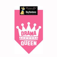 Drama Queen Dog Bandana - Pink