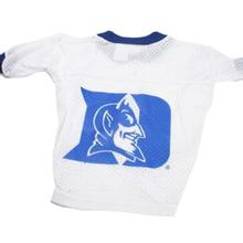 Duke Blue Devils Dog Jersey - White
