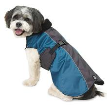 Durango Dog Ski Coat - Teal and Gray
