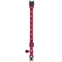 East Side Collection Academy Argyle Cat Collar - Raspberry