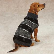 Chesterfield Dog Sweater - Gray