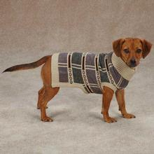 Chesterfield Dog Sweater - Tan