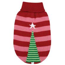 Christmas Star Dog Sweater - Pink