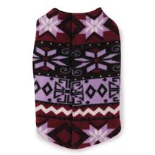 Fashion Fleece Dog Vests - Purple