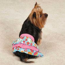 Fruit Frenzy Ruffle Dog Skirt