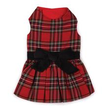 East Side Collection Holiday Tartan Dog Dress
