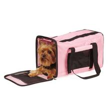 On-The-Go Duffle Bag Pet Carrier - Pink