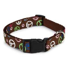 East Side Collection Peace Out Dog Collar