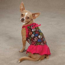 East Side Collection Peace Out Dog Dress