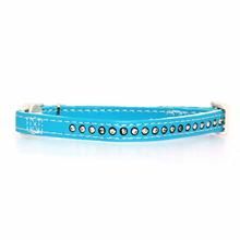 Sparkle Gemstone Cat Collar - Blue