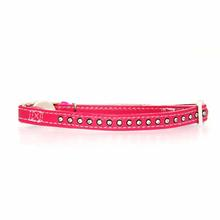 Sparkle Gemstone Cat Collar - Raspberry