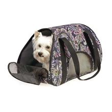 Stowaway Pet Carrier - Black Paisley
