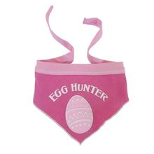 Easter Egg Hunter Dog Bandana - Pink Taffy
