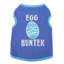 Easter Egg Hunter Dog Tank - Blue/Periwinkle