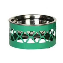 Easton Dog Bowl - Emerald Green