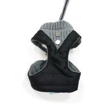 EasyGO Puffer Dog Harness - Black