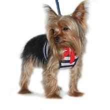 EasyGo Sailor Dog Harness - Navy Blue