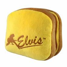 Elvis PB and Bananas Sandwich Plush Dog Toy