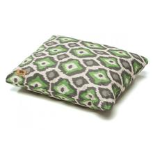 Emerald Ikat Pillow Dog Bed