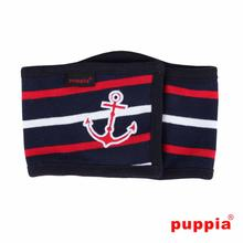EOS Nautical Dog Manner Band by Puppia - Navy